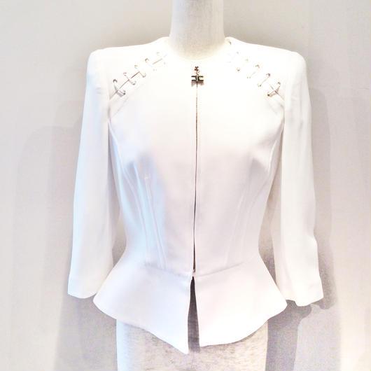 ELISABETTA FRANCHI(エリザベッタ フランキ) jacket with lacing 1826004