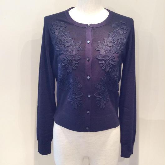 PAULE KA(ポール カ)enbroidery lace cardigan 1845-1014-0204