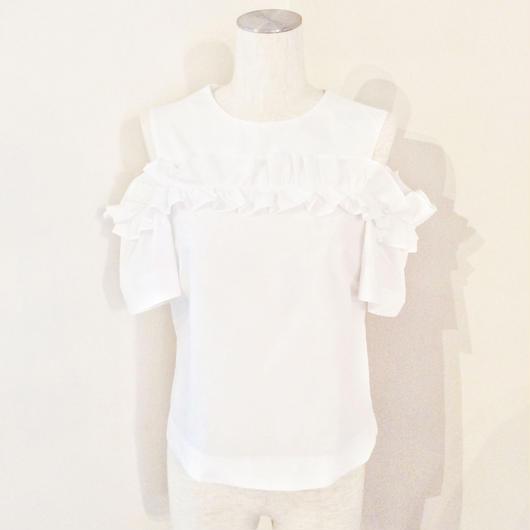 PINKO(ピンコ)  frill blouse 1G12ZQ-6716