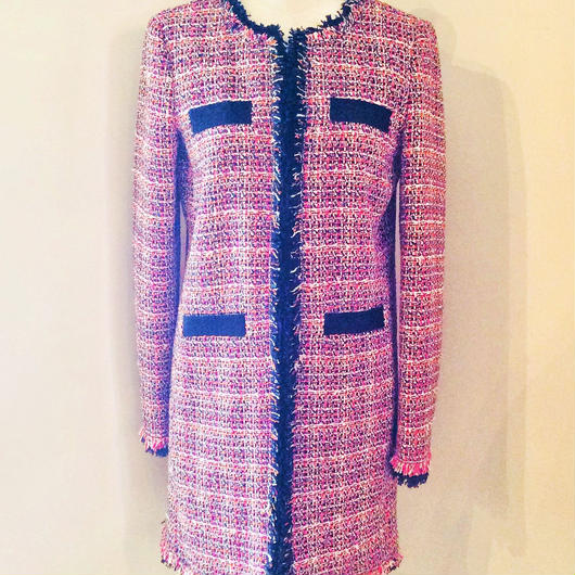 PINKO(ピンコ)  tweed no collar jacket 1G1305-6808