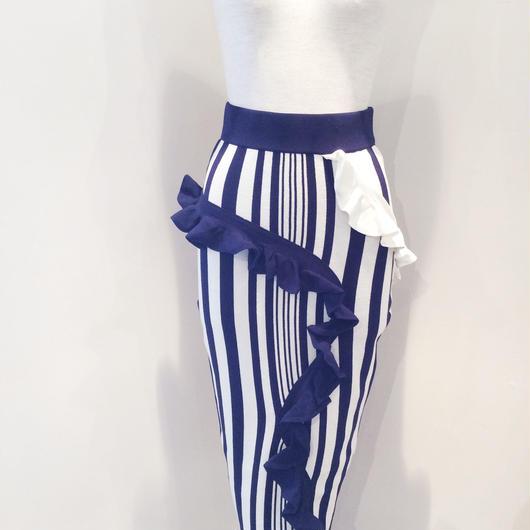 MILLY(ミリー)  frill tight skirt 373-55601-791