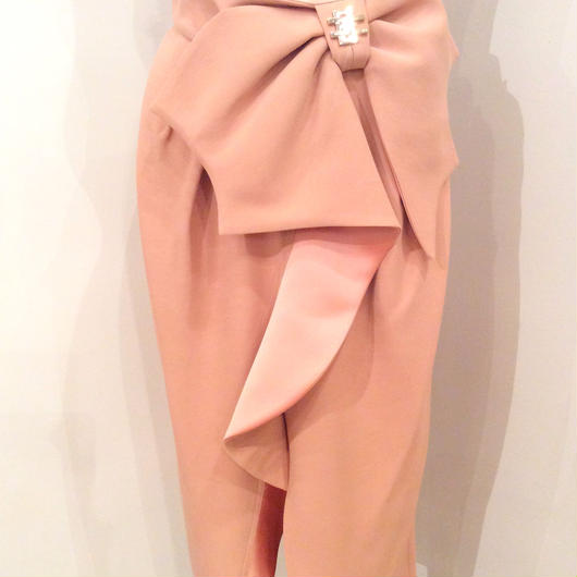 ELISABETTA FRANCHI(エリザベッタ フランキ)  waist ribbon skirt 1814003