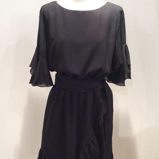 PINKO(ピンコ)  black mini dress 1G1337-6415