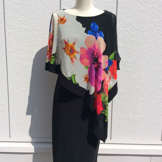 Joseph RIbkoff(ジョセフリブコフ)  Stunning layered colorful dress