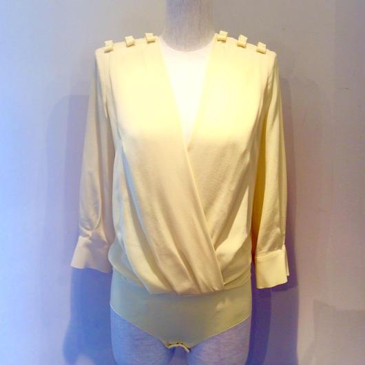 ELISABETTA FRANCHI(エリザベッタ フランキ)  bodysuit  silk blouse 1813015