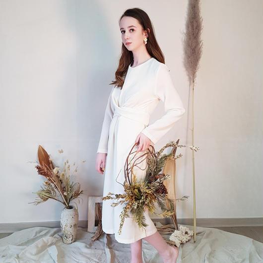 Waist crossed dress