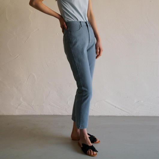 予約販売Cotton blue pants