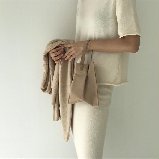 wool short  sleeves knit