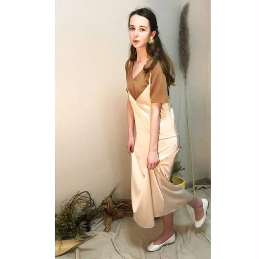 Long camisole onepiece