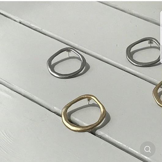 予約販売Big circle earrings