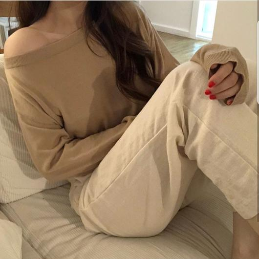 3 way shoulder knit