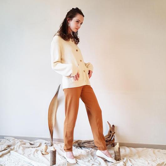 Low knit pants