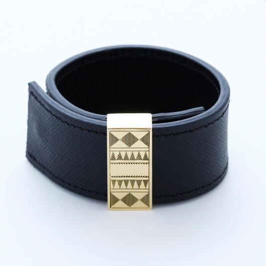 arabic leather bangle