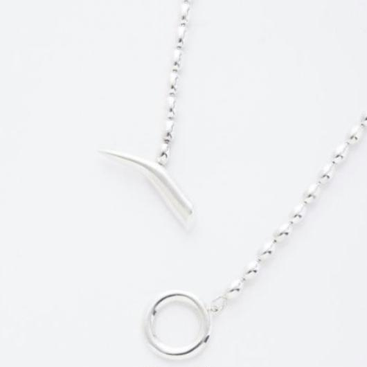 bowl chain necklace