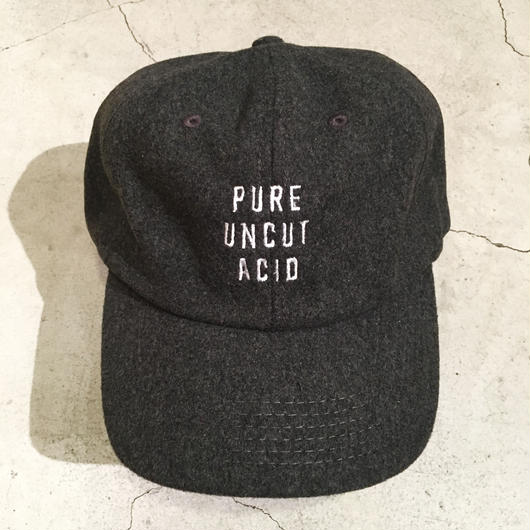PURE UNCUT ACID Wool Cap / Gray