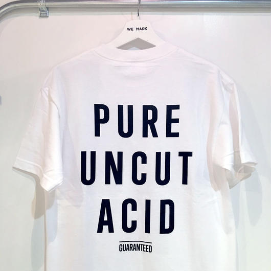 PURE UNCUT ACID Tee / White