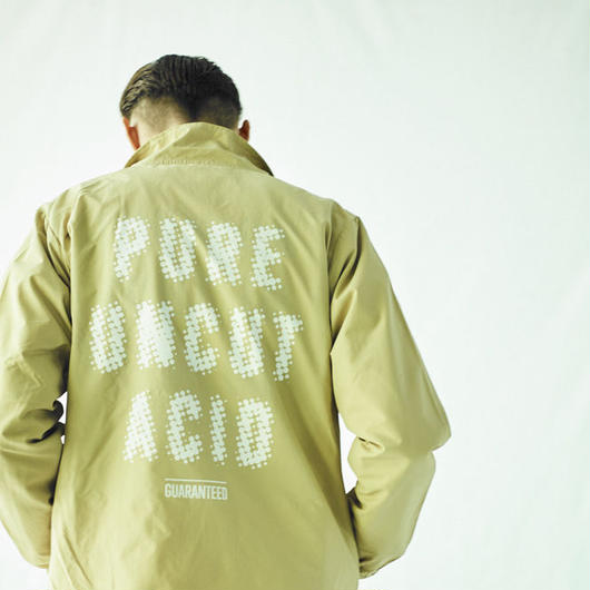 PURE UNCUT ACID Dot Coach Jacket