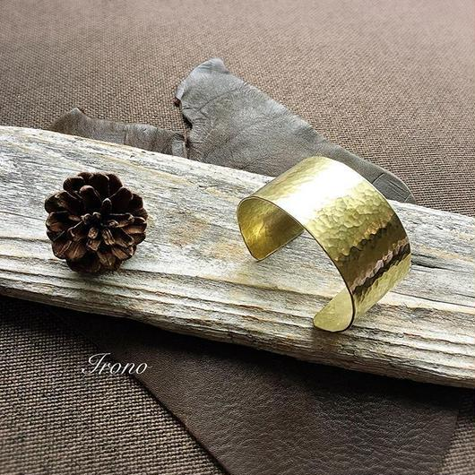 brass bangle wide