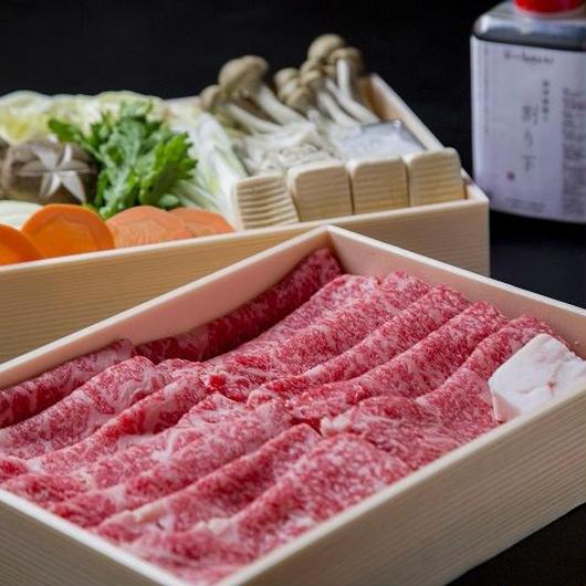 ほてるISAGO神戸 「特選 神戸牛すき焼鍋セット」(4~5名様用)