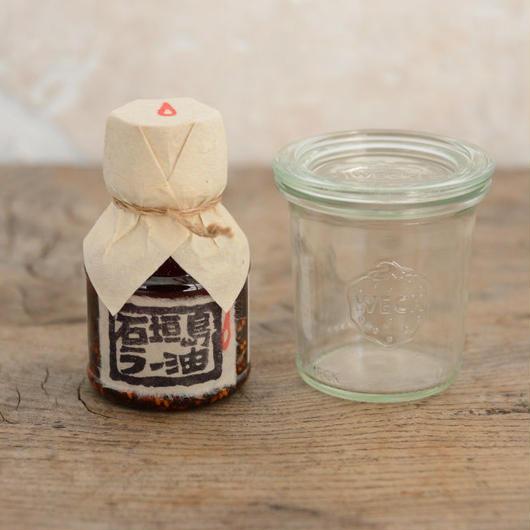 辺銀食堂の石ラーとWECKのセット【1本】