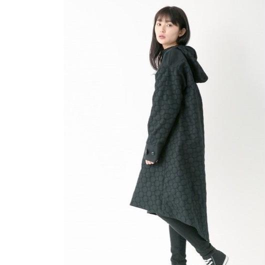 Embroidery coat (BLACK)