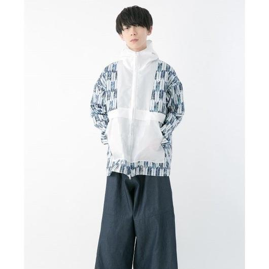 Yagasuri blouson (WHITE)