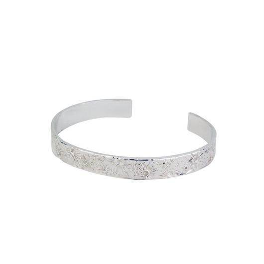 Moon crater bangle silver 9mm (ムーンクレーター バングル 9mm)
