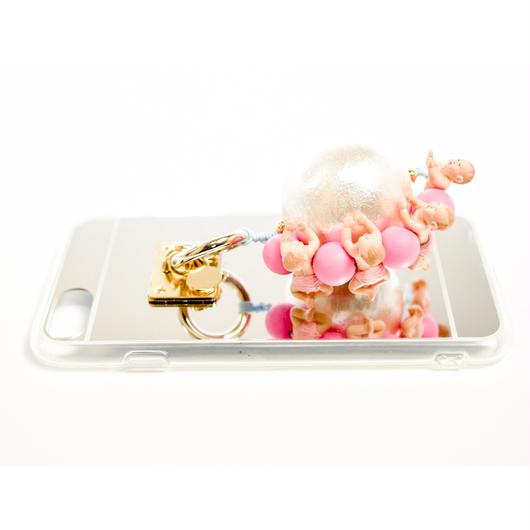 iphoneケース ベビィ (ピンク)
