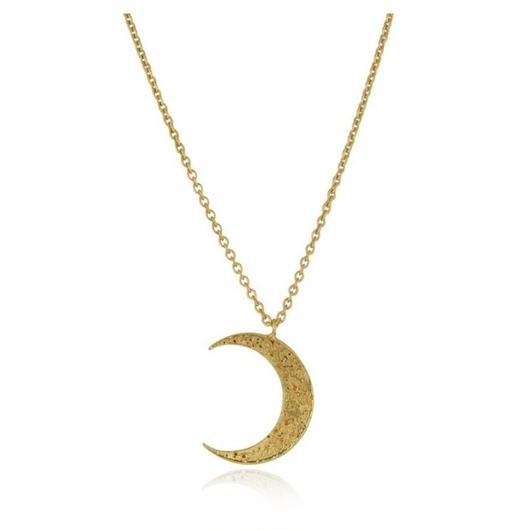 Crescent moon necklace Gold (クレセントムーン ネックレス ゴールド)
