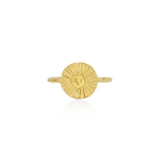 Sun disc ring gold (サンディスクリング ゴールド)