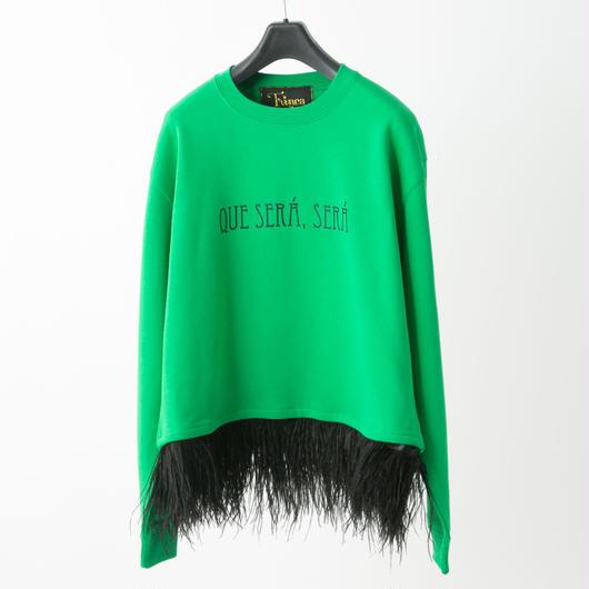 Que sera sera top (green)