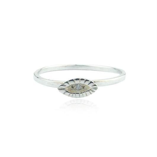 TINY EYERING SILVER/ DIAMOND(シルバーミニアイリング ダイアモンド)