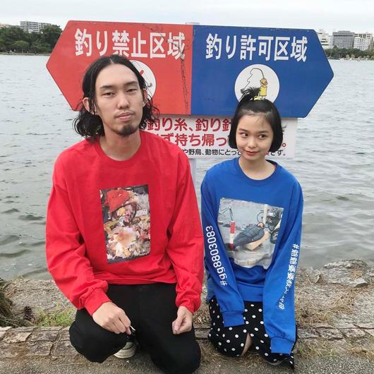 #gg8803083 L/S Print T-Shirt (RED)