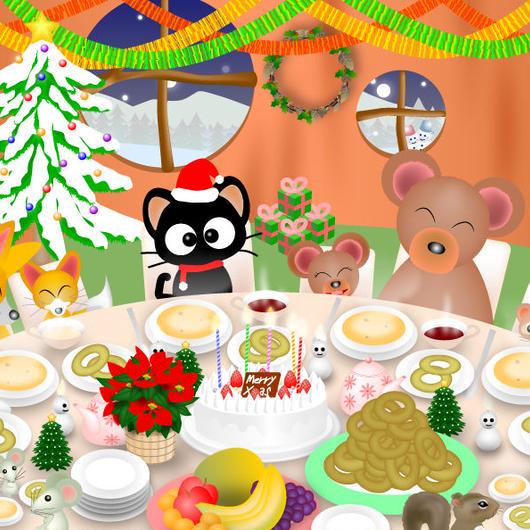 A4イラスト101 Happy Christmas