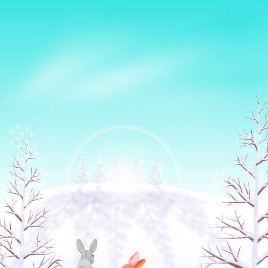 A4イラスト005 大雪の朝