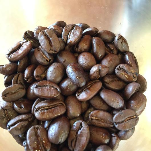 ラオス ロンラン 自然栽培の豆(100g)/深煎り