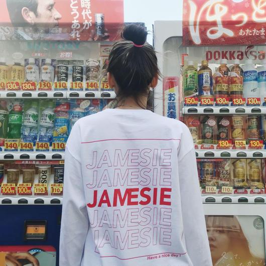 JAMESIE THANK U LONG TEE