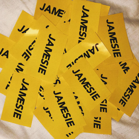 JAMESIE STICKER  3枚セット