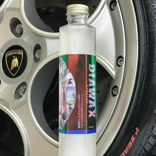 【SPASHAN】新商品!タイヤに新たな輝き!天然ダイヤモンド配合ダイヤワックス200ml スパシャン 洗車