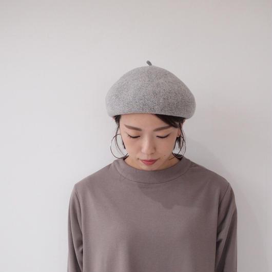 ピュアウール ベレー帽