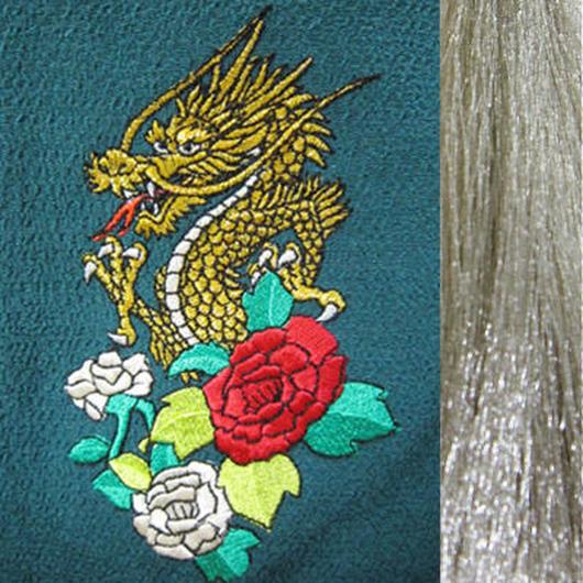 龍と薔薇・銀房・長さ105cm