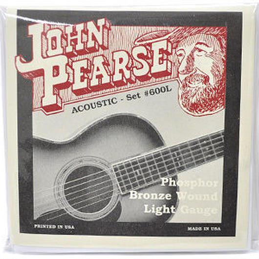 JohnPearse(ジョンピアース) アコースティックギター弦 600L