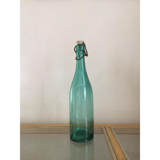 日本製 大正〜昭和初期 陶器機械栓付き酒瓶