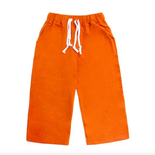Capri Training Pants – Orange