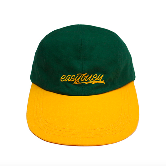 Simple Logo Long Bill Cap – Yellow&Green