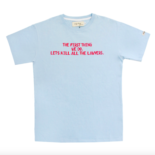 Lawer T-Shirts – Sky Blue