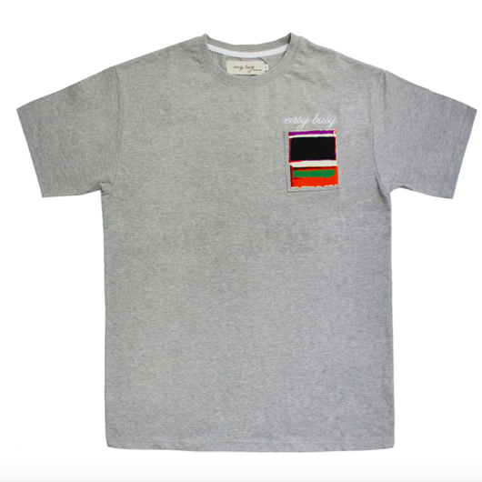 Rothko T-Shirts – Grey