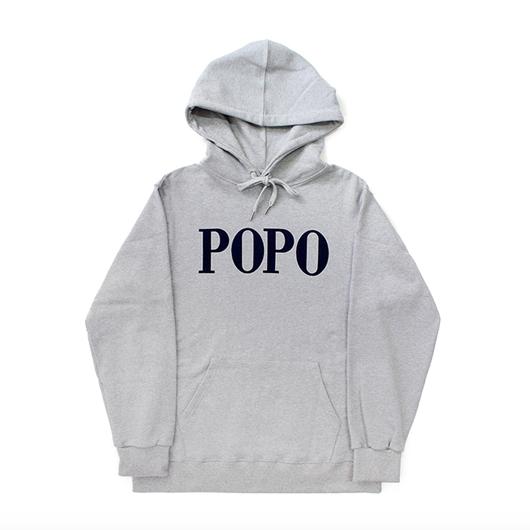 POPO' Hoodie – Grey