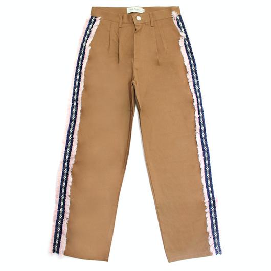 Sidedetail Chino Pants – Brown
