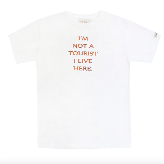 Tourist T-Shirts – White